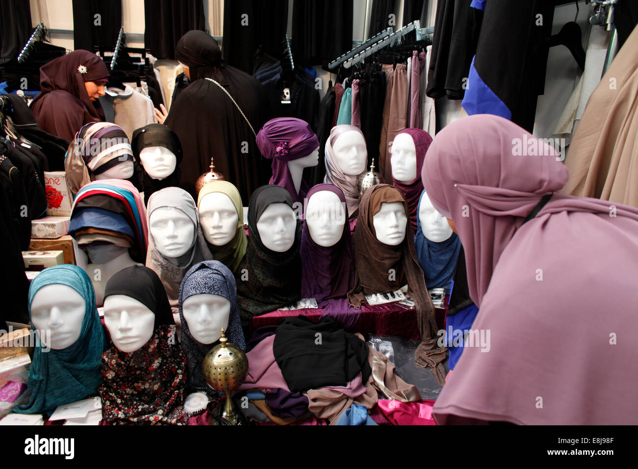 Muslim trade fair - Stock Image