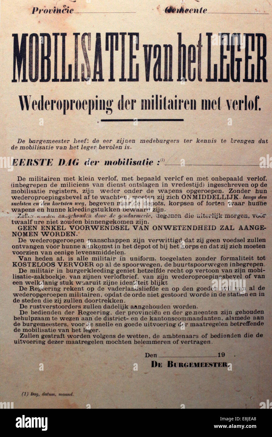 Advertising for Specific Victorious.  The Museum of the Great War. Meaux. - Stock Image