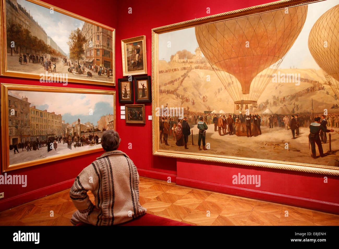 Carnavalet Museum in Paris. - Stock Image