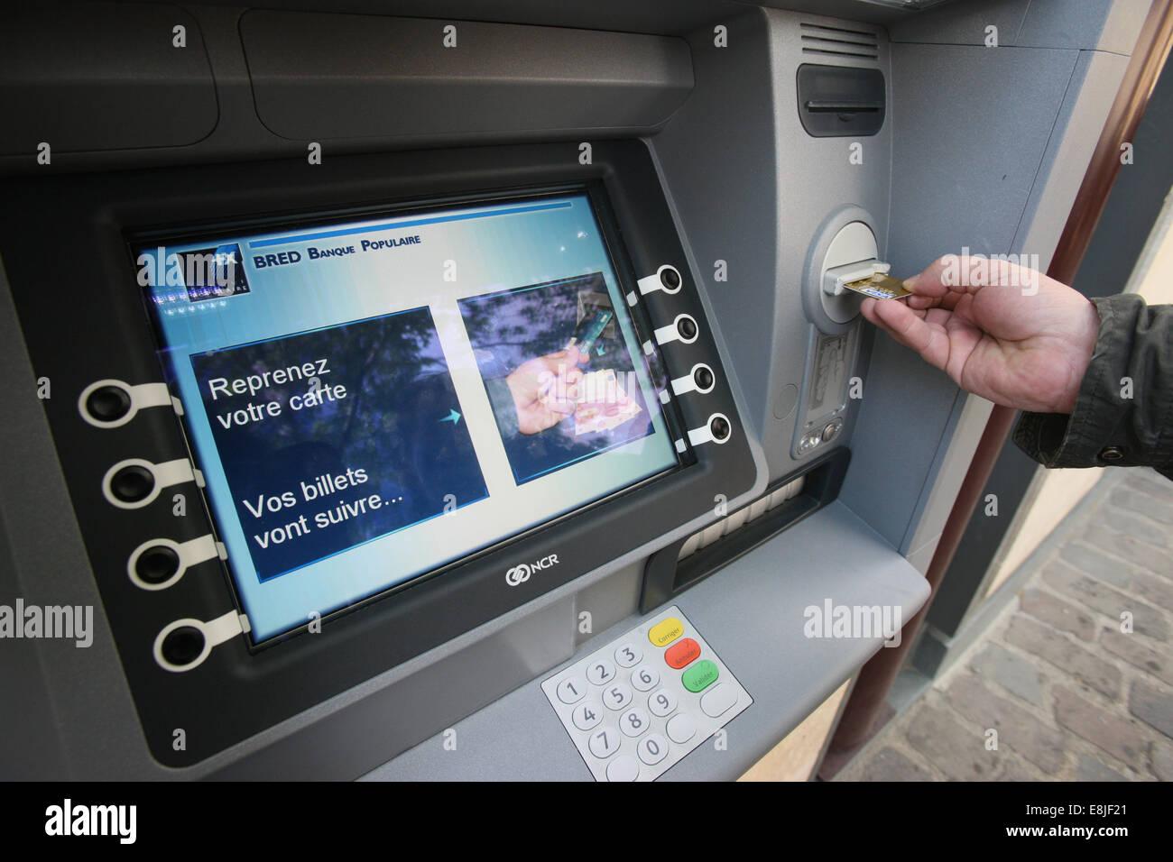 Automated Teller Machine - Stock Image