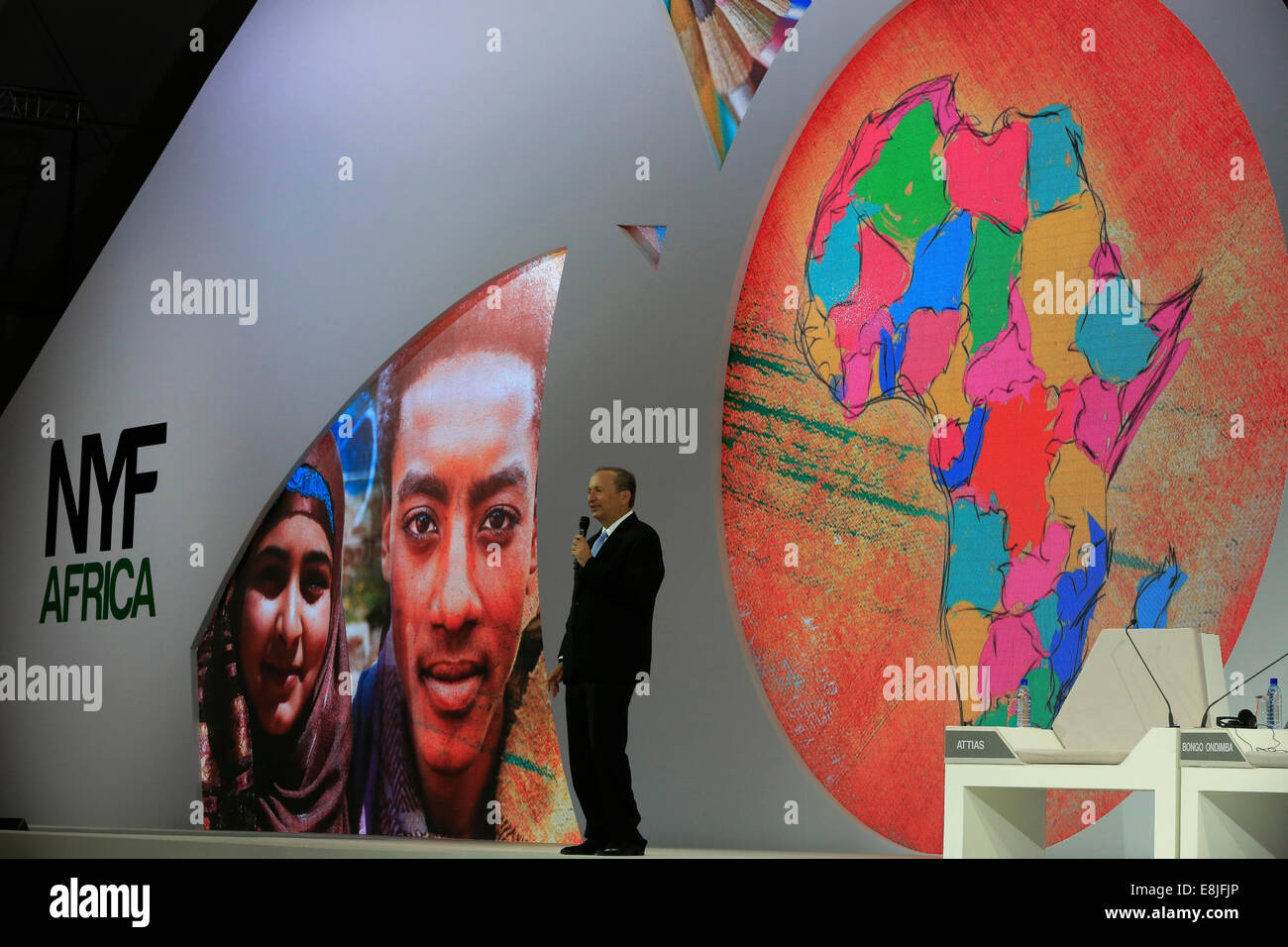 The New York Forum Africa.  Lawrence Summers. - Stock Image