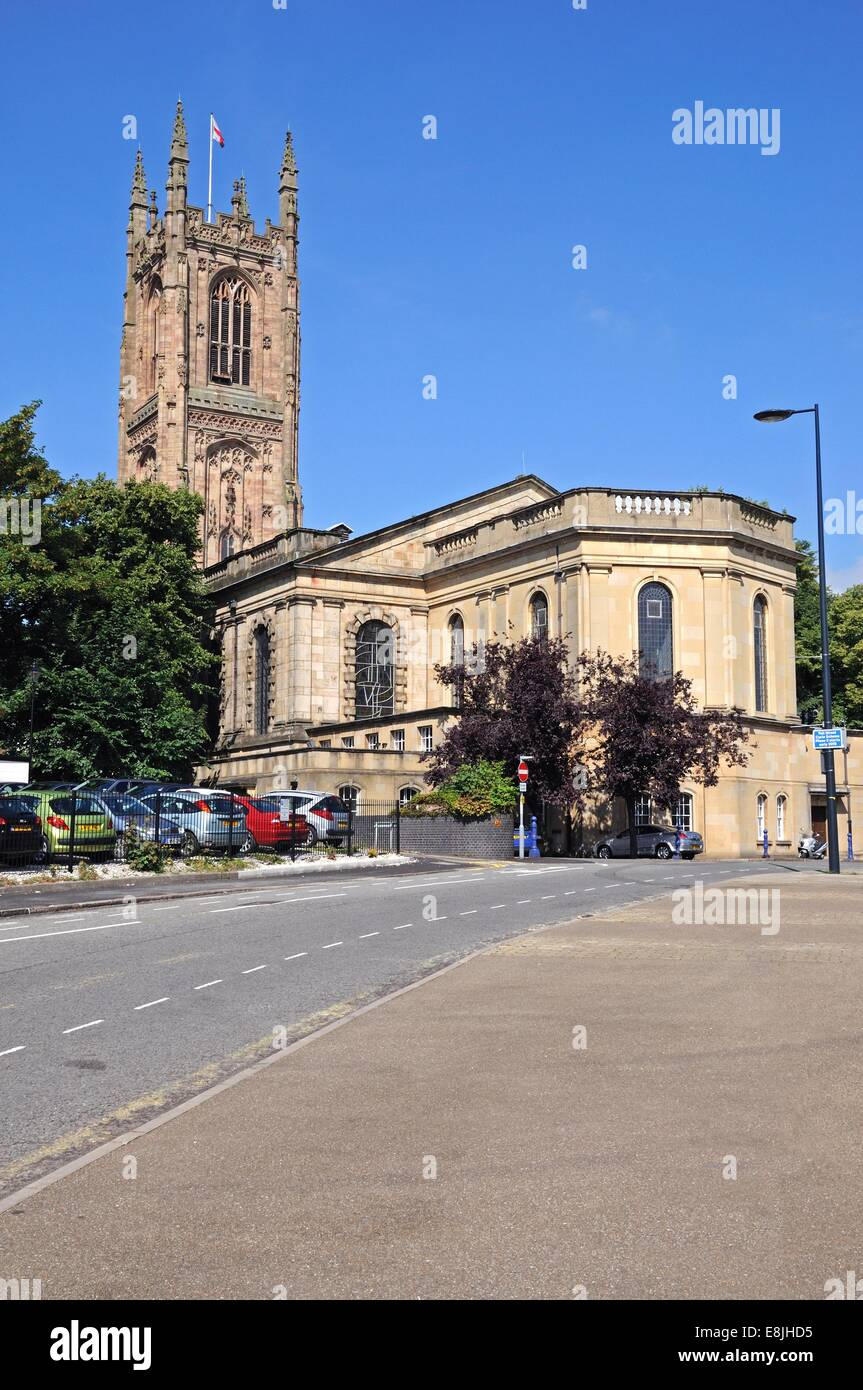 The Cathedral of All Saints, Derby, Derbyshire, England, UK, Western Europe. - Stock Image
