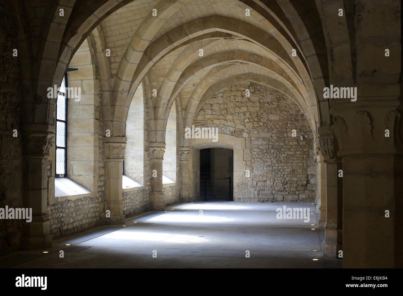 Lower room of the late fifteenth century. Palatine Chapel. Tau Palace. - Stock Image