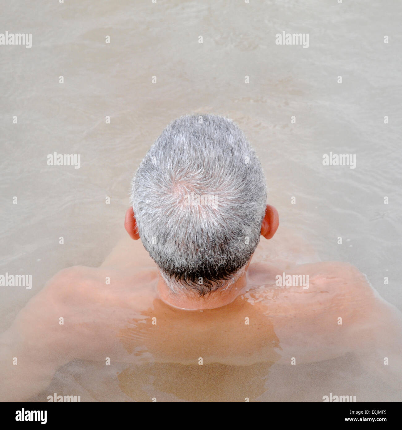 Bather - Stock Image