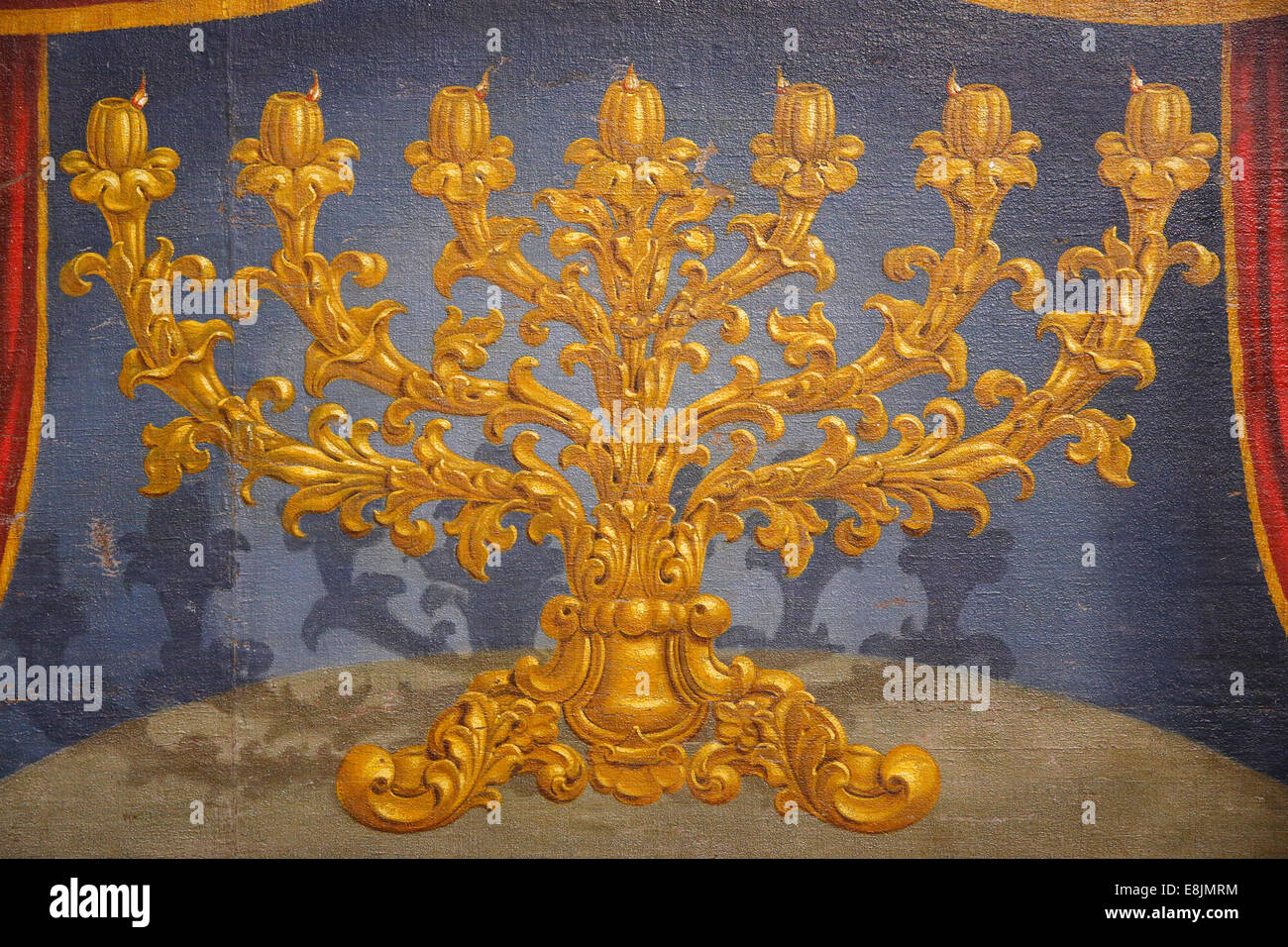 The Israel Museum. Menorah. - Stock Image