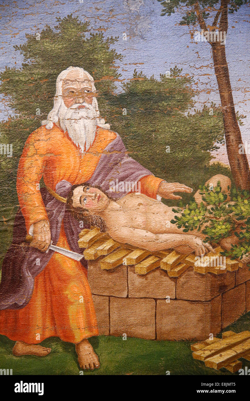 The Israel Museum. Sacrifice of Isaac. - Stock Image