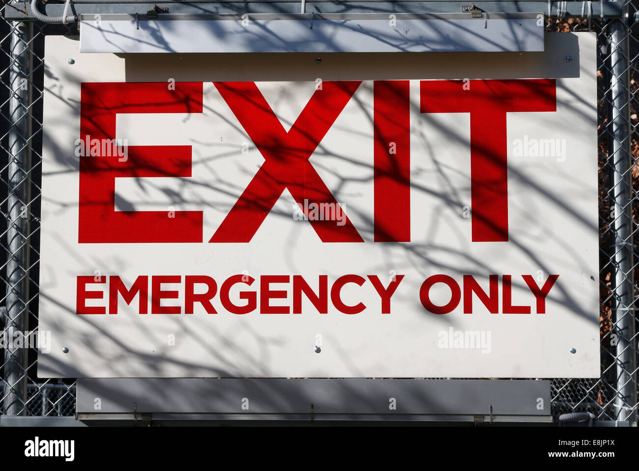 Exit. - Stock Image