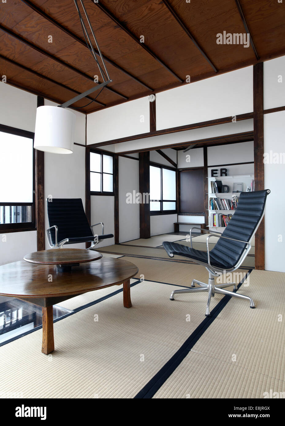 japanese office furniture. Contemporary Tatami Room With Charles Eames Office Chairs In A Japanese Apartment Tokyo Furniture