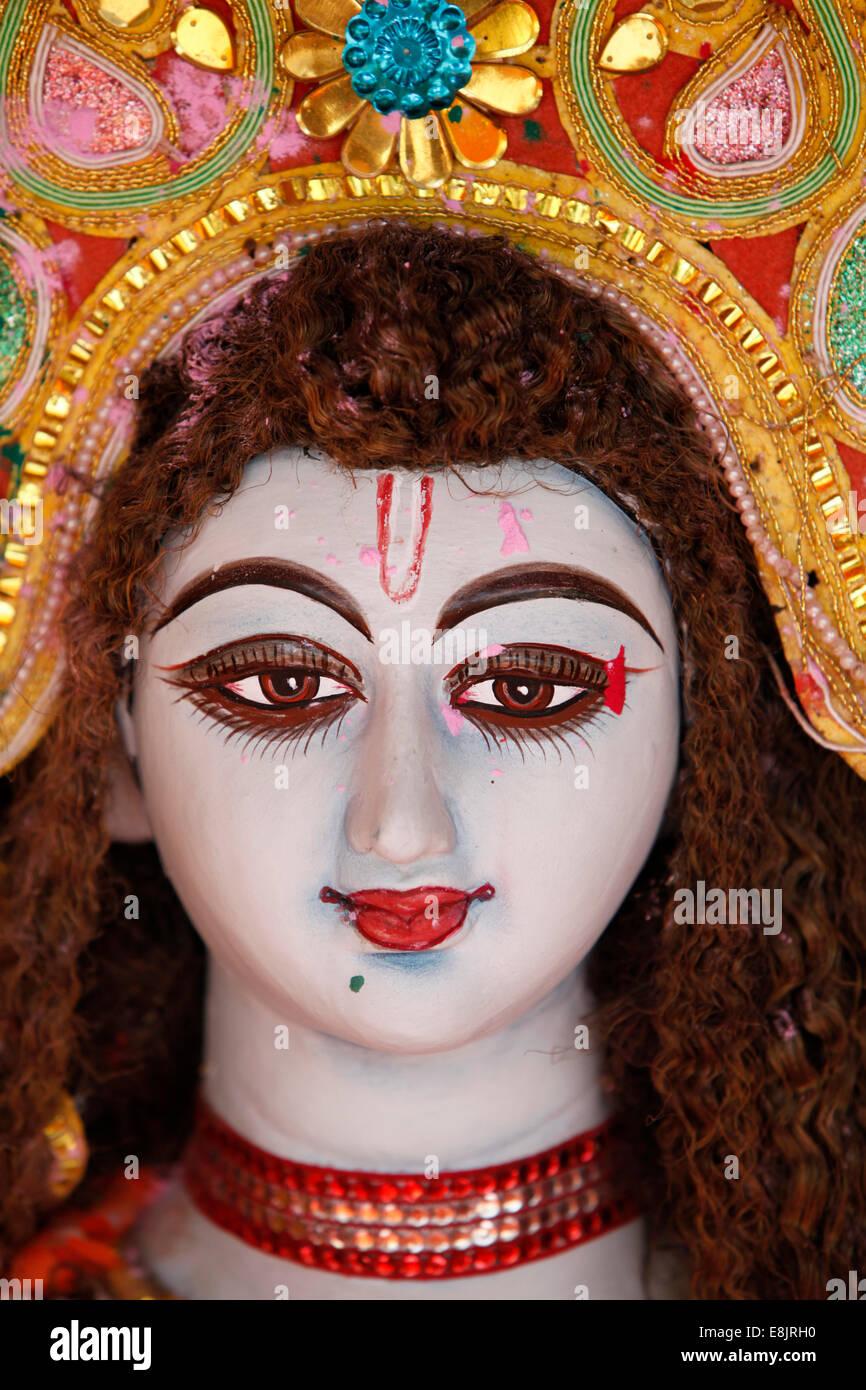 Hindu goddess - Stock Image