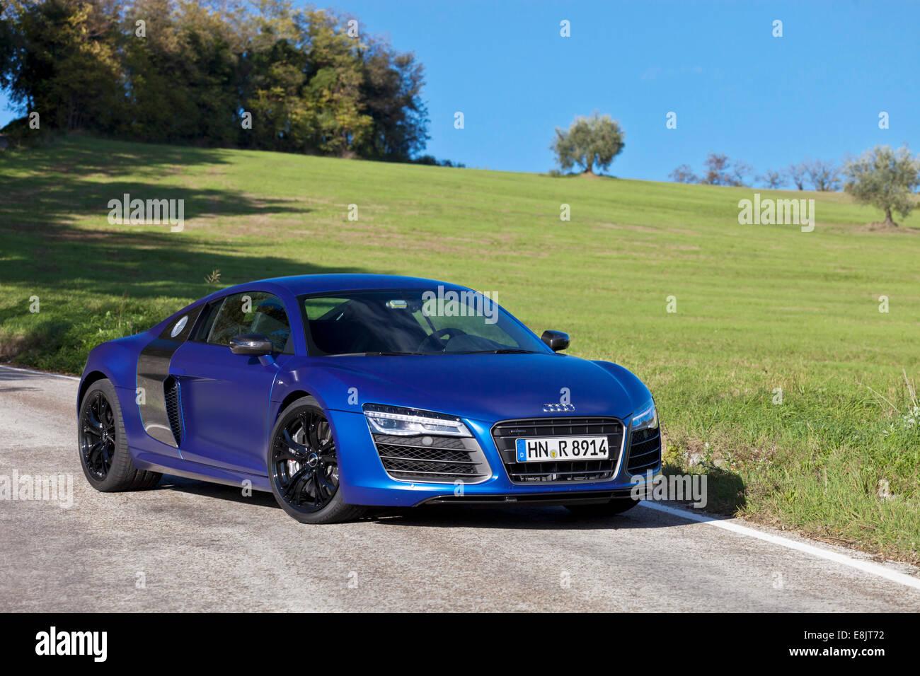 Audi R8 V10 Plus - Stock Image