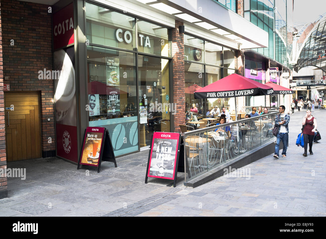 Dh Costa Shop Retail Costa Coffee Shop Cabot Circus Shopping