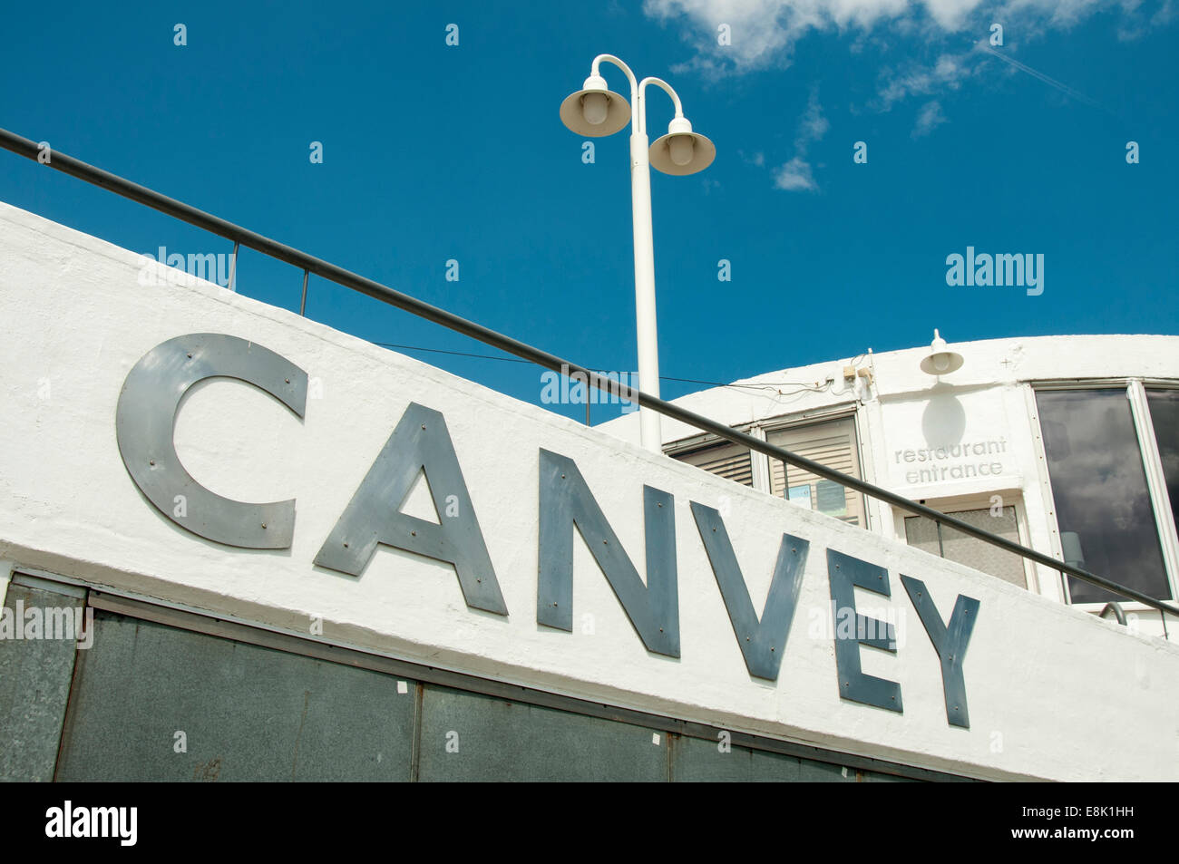 The Labworth Cafe on the waterfront at Canvey Island in Essex, UK - Stock Image