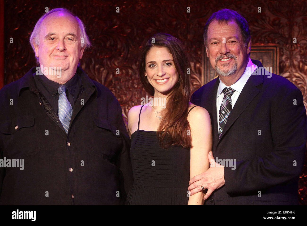 Press Preview of Concerts at 54 Below nightclub.  Featuring: Skip Kennon,Elena Shaddow,Eric Michael Gillett Where: - Stock Image