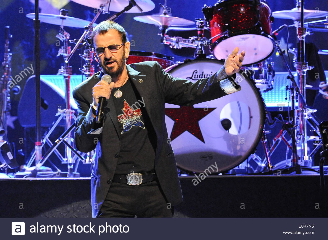 8th October 2014 Ringo Starr Performs In Concert At ACL