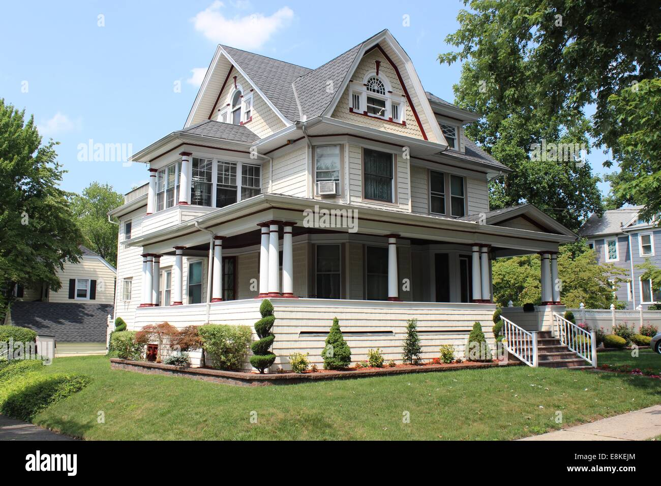 Dutch Colonial Revival House Westerleigh Staten Island New York