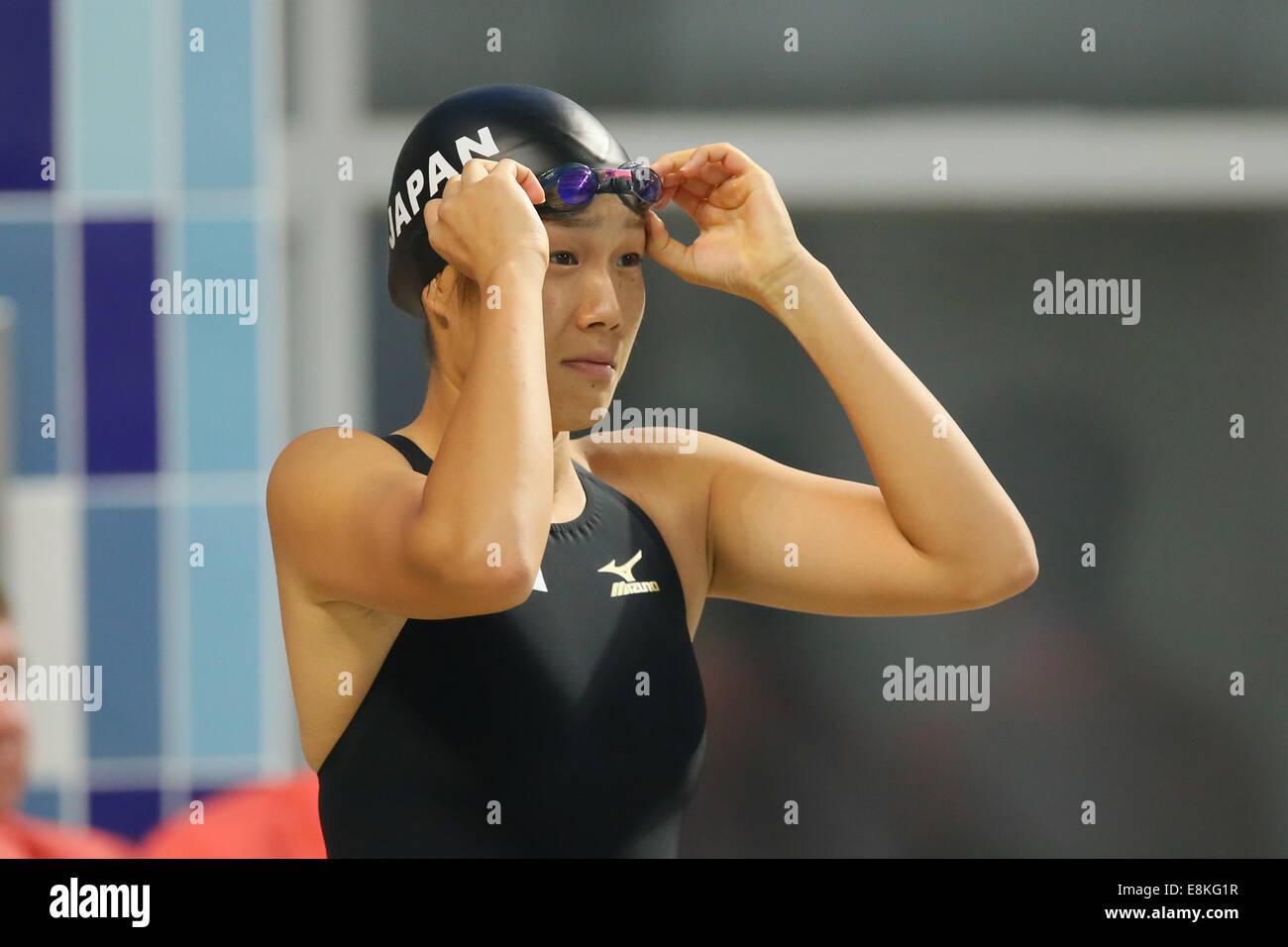 Atsuko Itani (JPN),  OCTOBOR 2, 2014 - Modern Pentathlon :  Women's Individual / Team  Swimming  at Dream Park - Stock Image