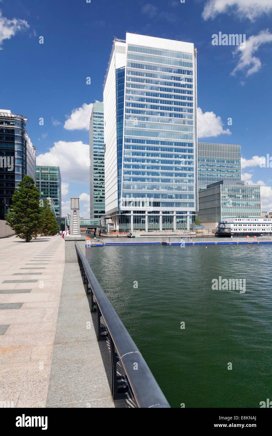 Canary Wharf, Docklands, London, England, United Kingdom - Stock Image