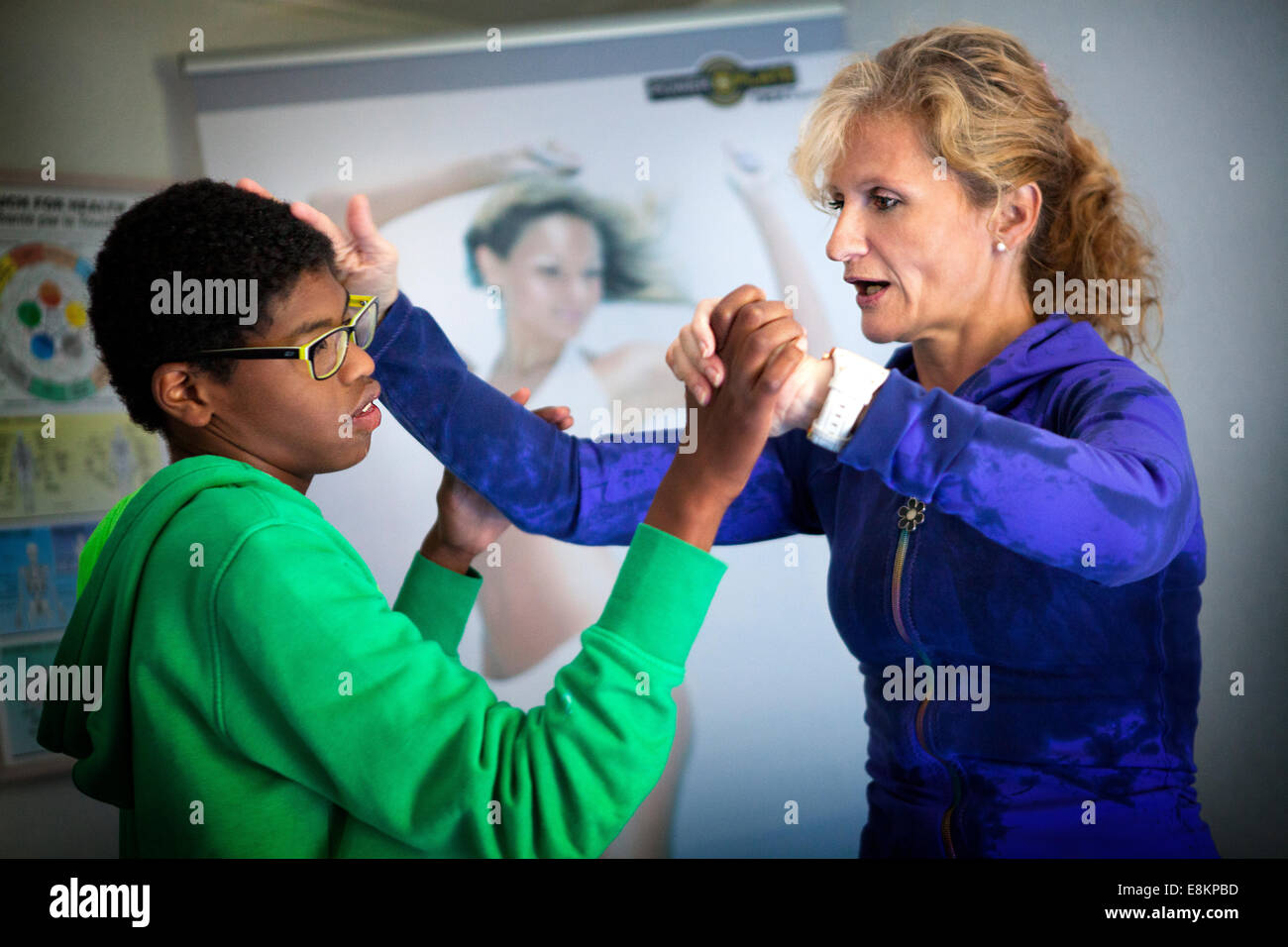Reportage on Sylvain, 11 years old, suffering from autism He
