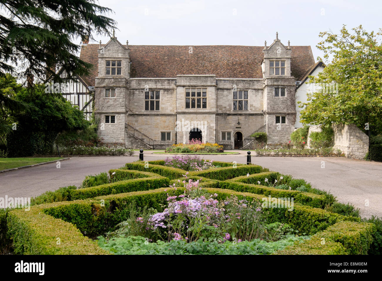 The 16th century Archbishop's Palace is now used as a register office wedding venue in Maidstone, Kent, England, - Stock Image