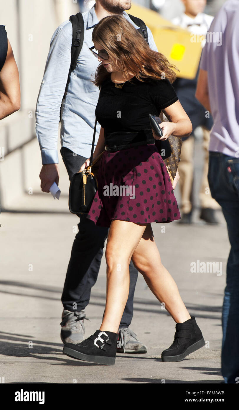 Hollywood California Usa 7th Oct 2014 Bethany Costentino Of Best Stock Photo Alamy