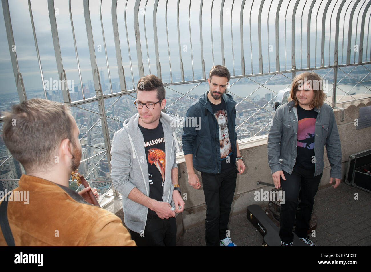 Manhattan, New York, USA. 10th Oct, 2014. The English rock band ...