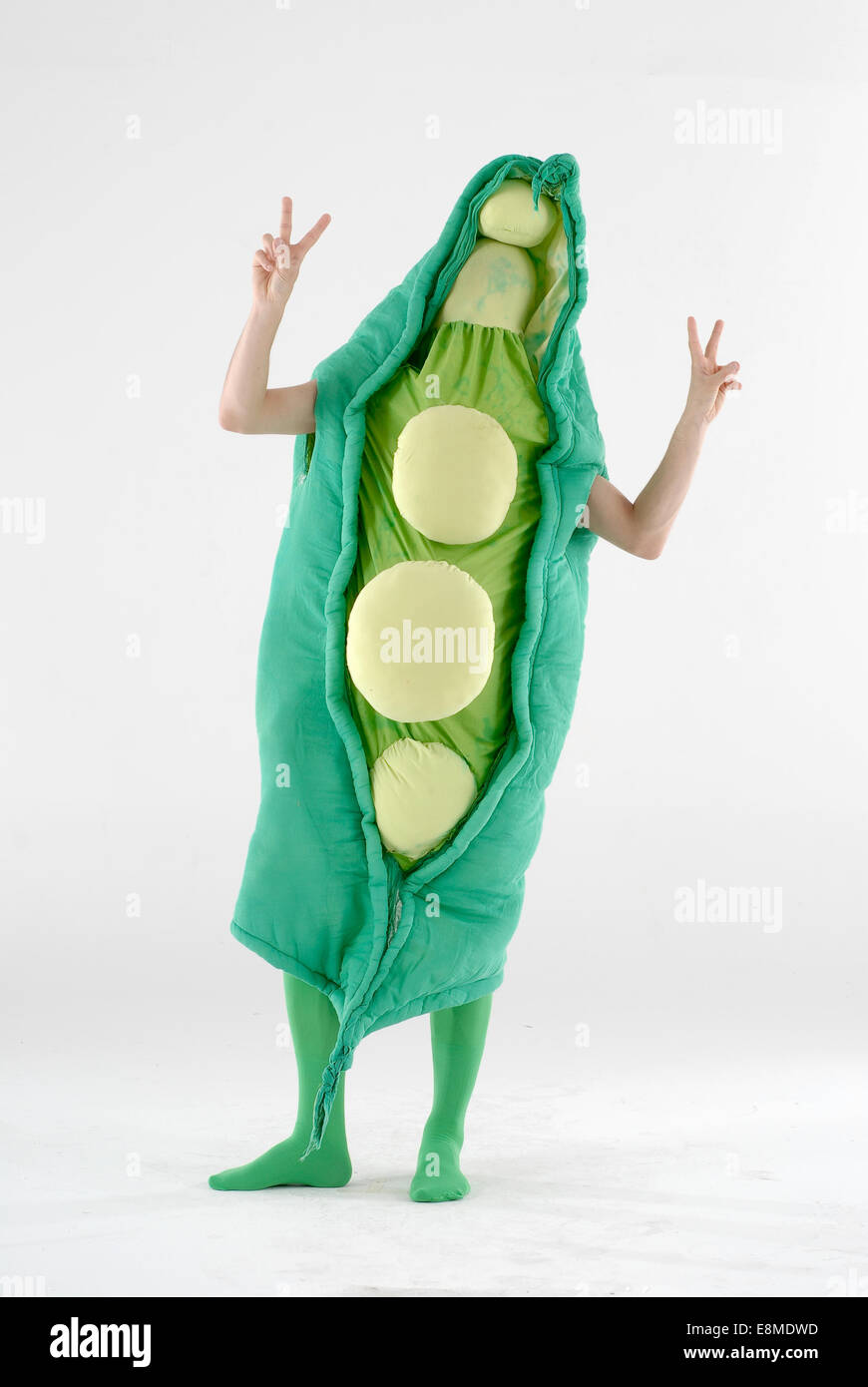 1fc1b649a7eca runner bean / peas in a pod fancy dress comedy costume could be used for a  marathon as a comedy vegetable outfit