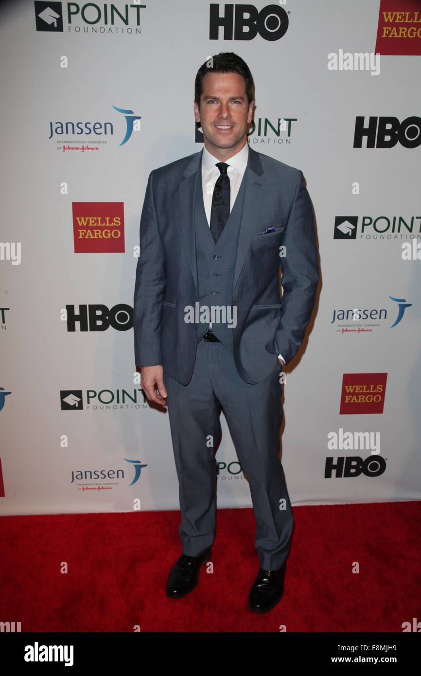 Bryant Park Library presents Point Foundation The National LGBTQ Scholarship Fund  Featuring: Thomas Roberts Where: - Stock Image