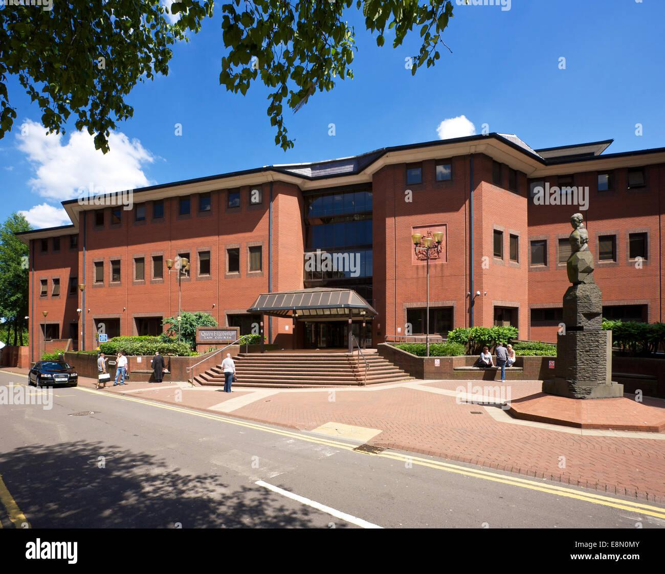 Birmingham Crown Court Birmingham West Midlands England Uk Stock Photo Alamy