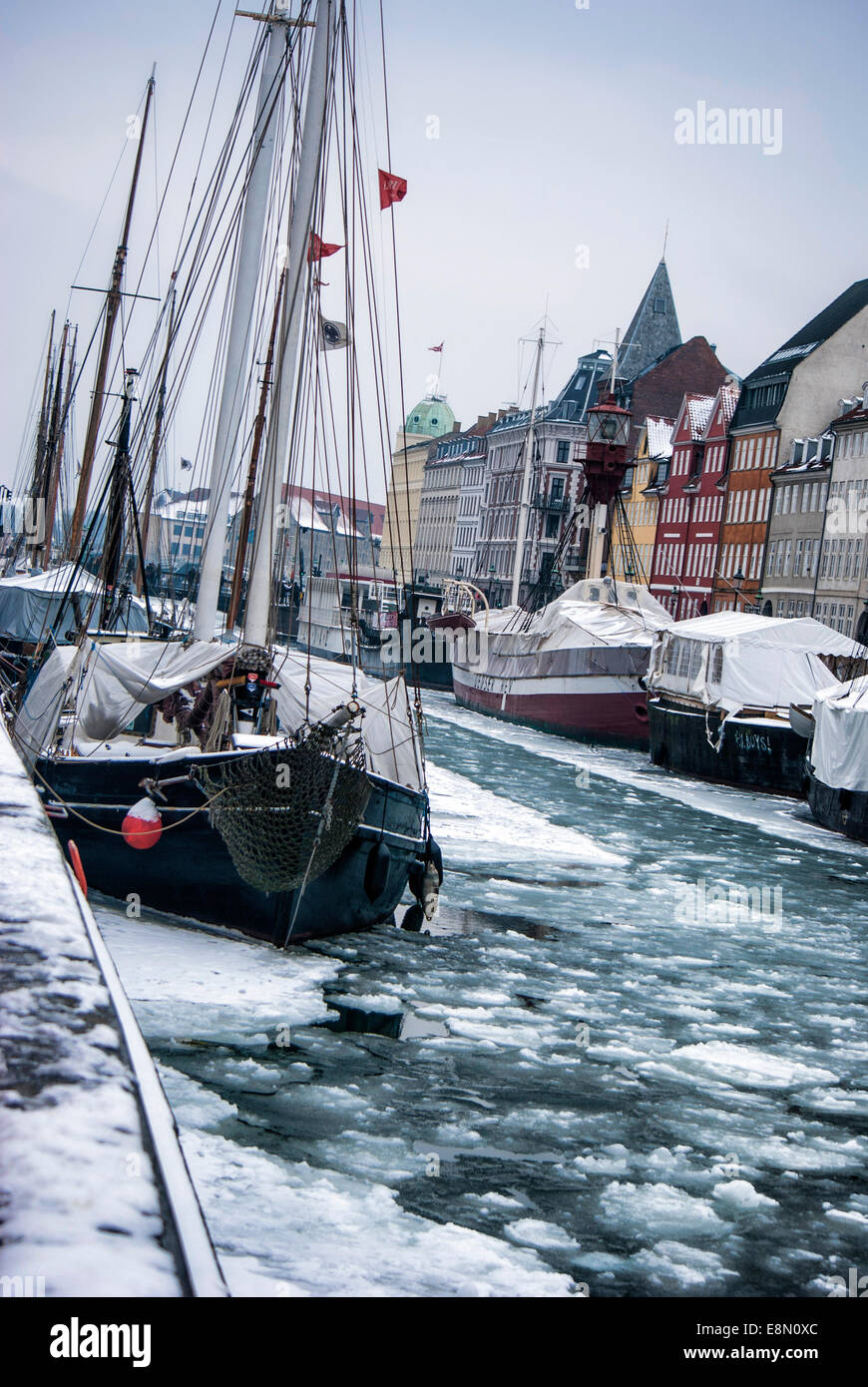 Copenhagen,( København) Denmark - Stock Image