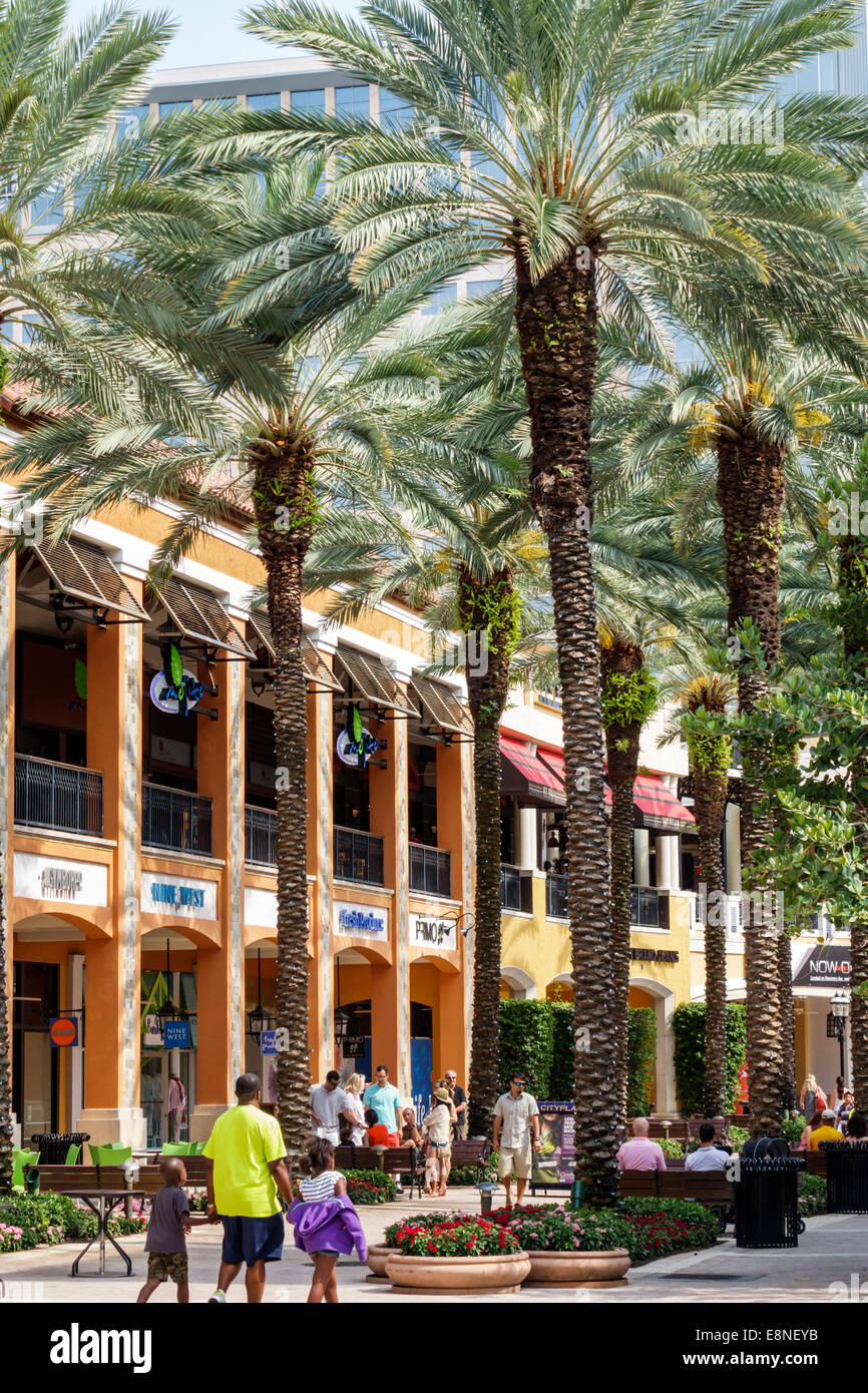 West Palm Beach Florida CityPlace City Place Shopping Mall