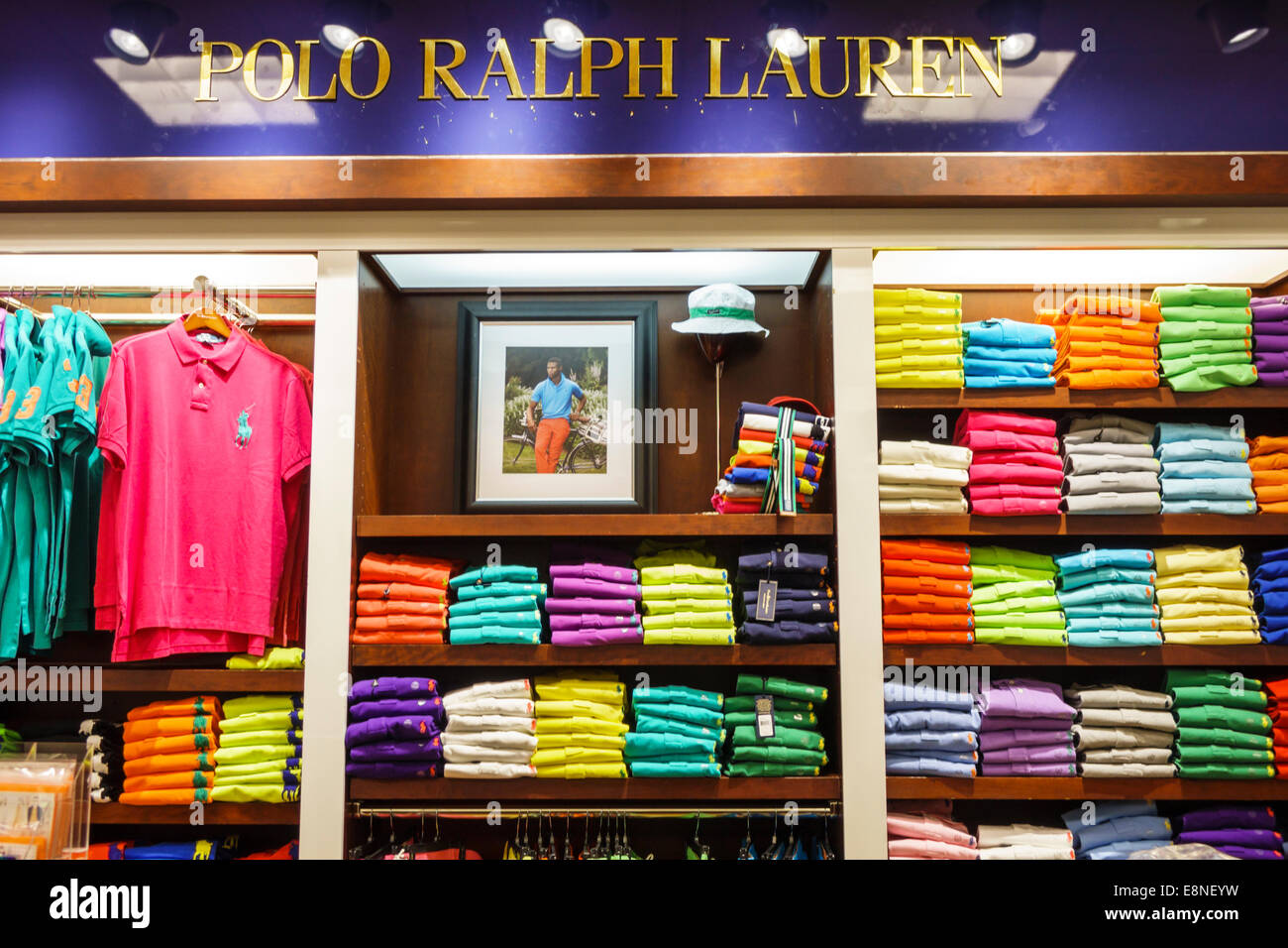 Boca Raton Florida Town Center at Boca Raton centre Bloomingdale's department store shopping men's clothing - Stock Image