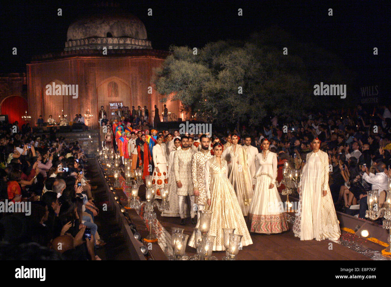 Wills India Fashion Week Spring Summer High Resolution Stock Photography And Images Alamy