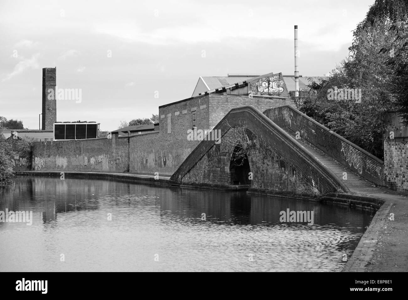 Birmingham Canal - Stock Image