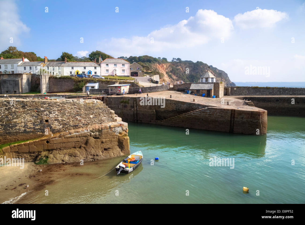 Charlestown, Cornwall, England, United Kingdom - Stock Image