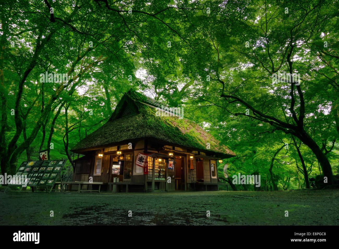 Mizuya Chaya Tea House in Nara, Japan - Stock Image