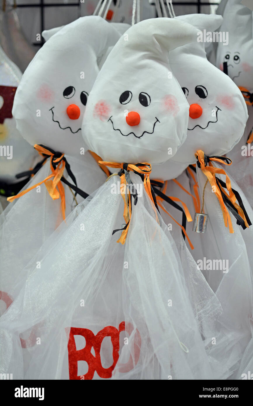 Lovely Display Of Halloween Decorations For Sale At The Party City ...