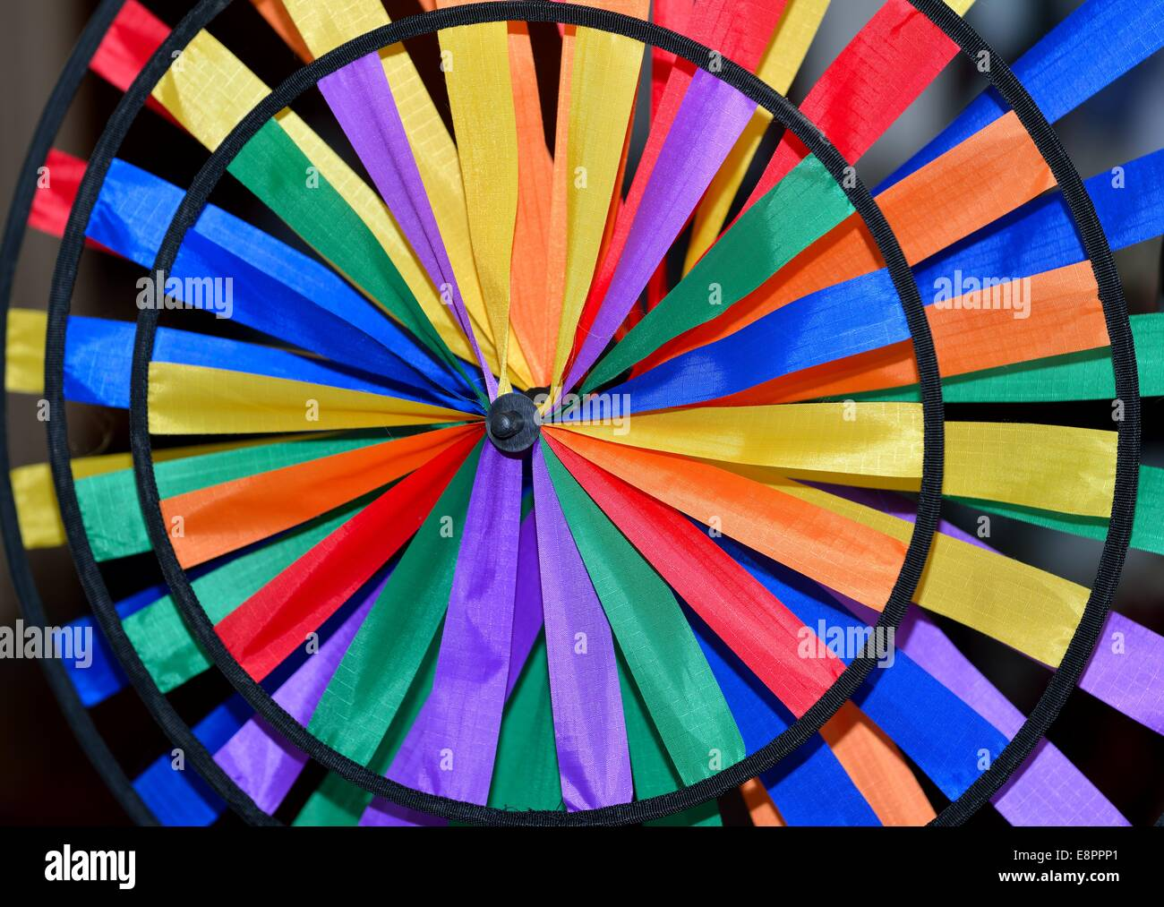 Color spinner - Stock Image