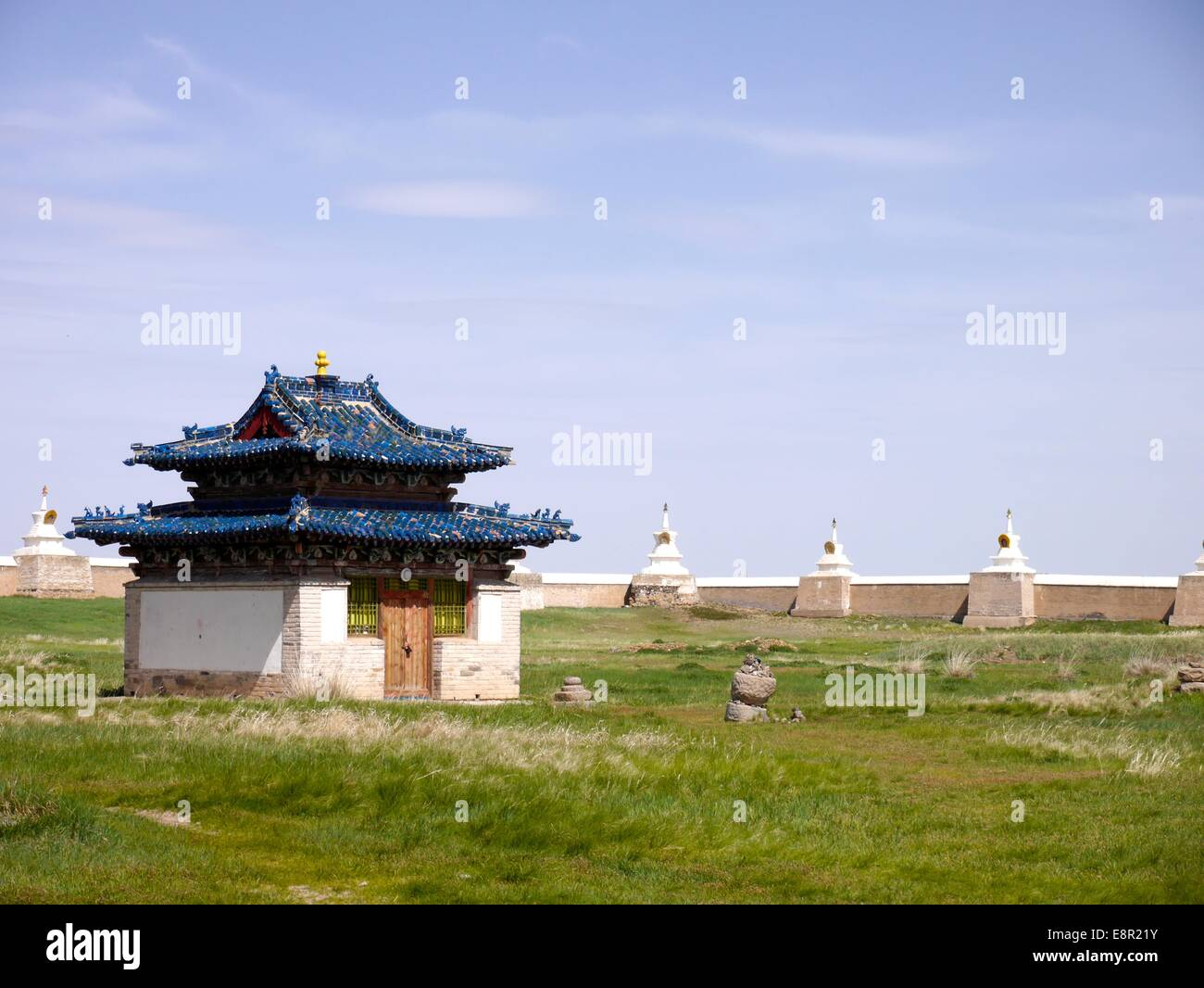 Erdene Zuu monastery - Stock Image