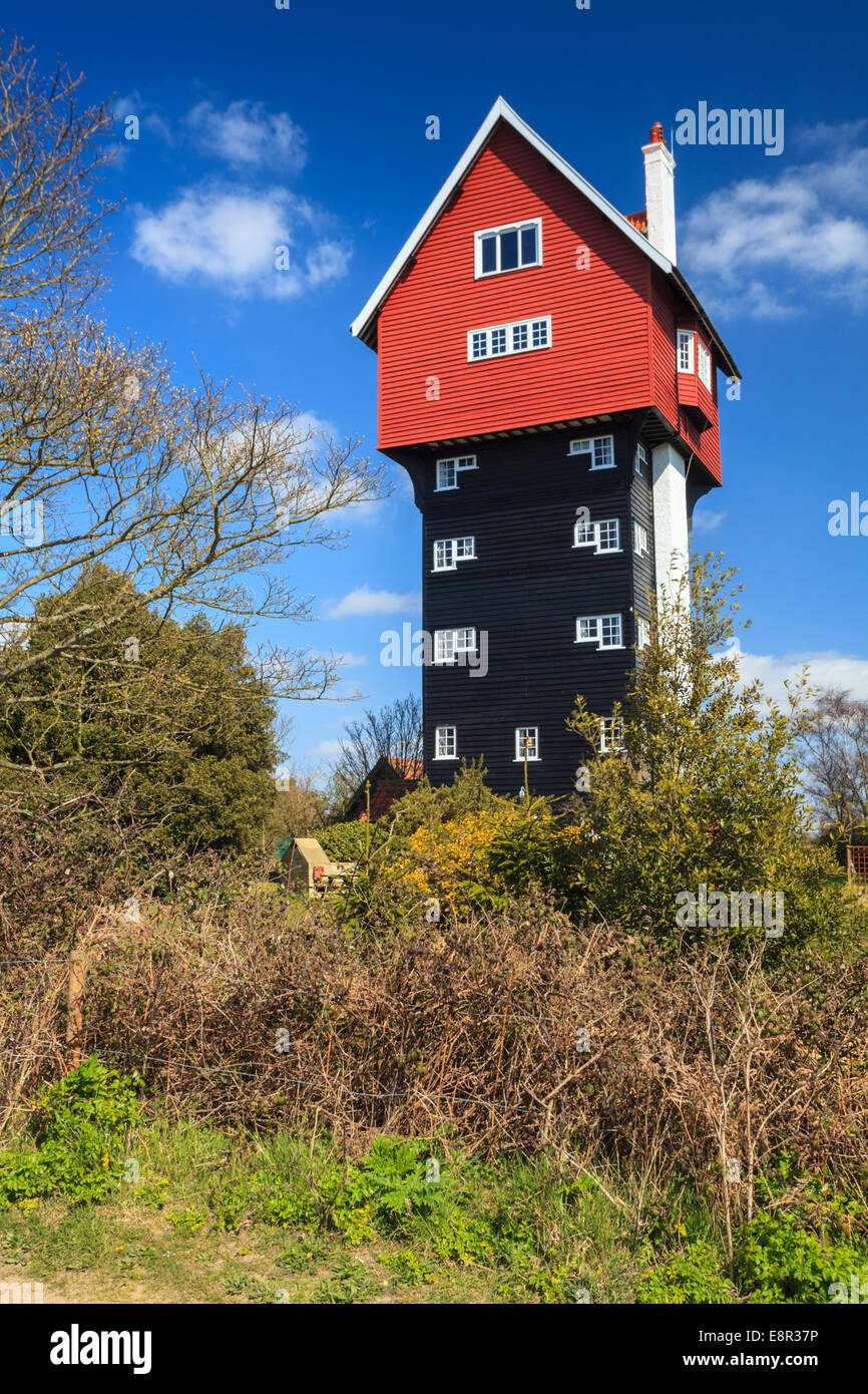 The House in the Clouds at Thorpeness in Suffolk - Stock Image