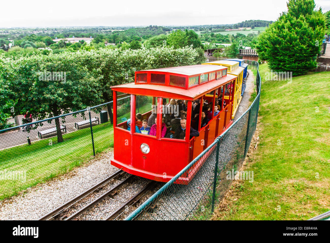 Hill train at Legoland Windsor Resort, Windsor, London, England, United Kingdom. Stock Photo