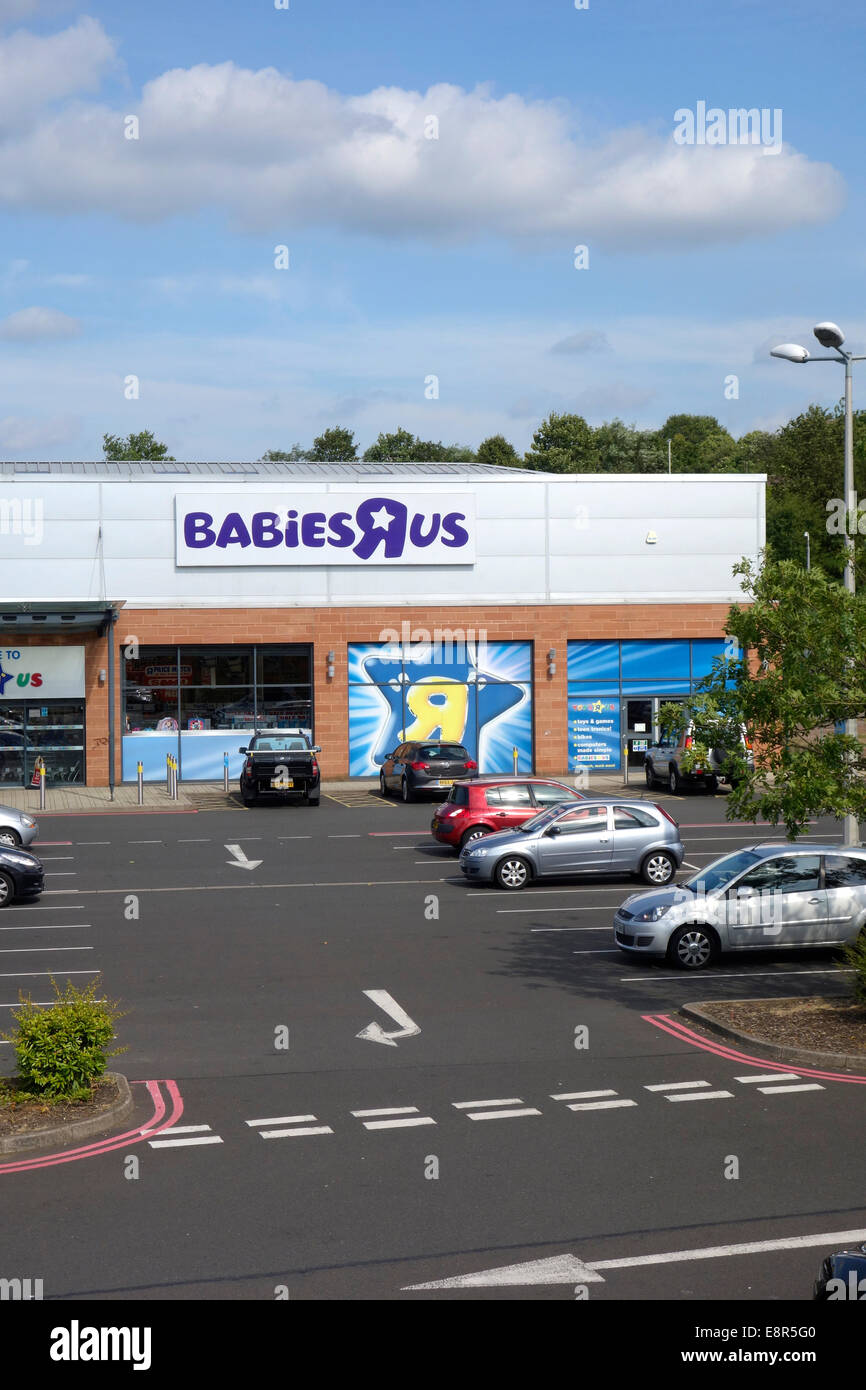 Babies 'R' Us Store, Merry Hill Centre, Brierley Hill, West Midlands, England, UK - Stock Image