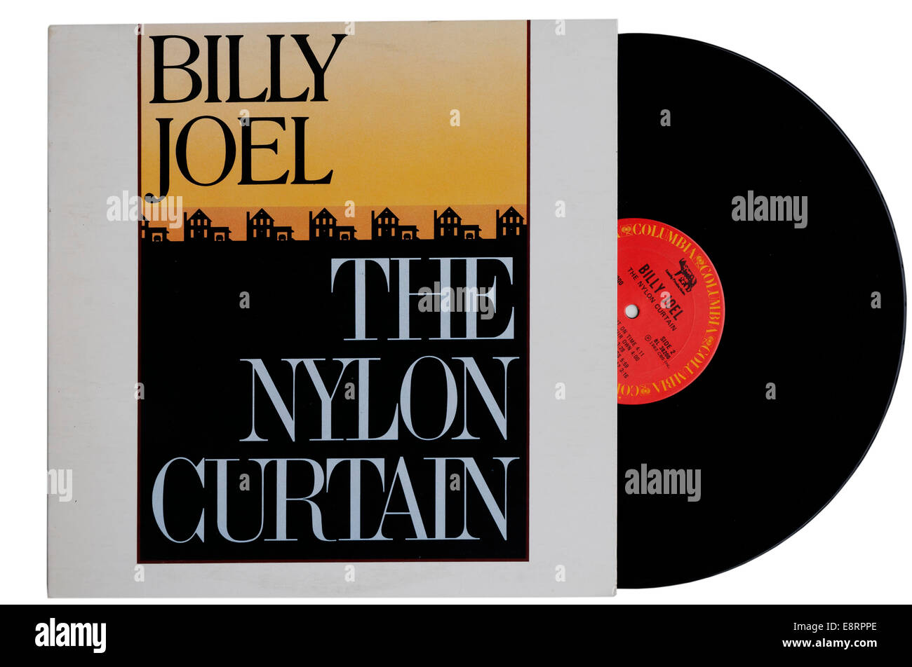 The Nylon Curtain album by Billy Joel - Stock Image