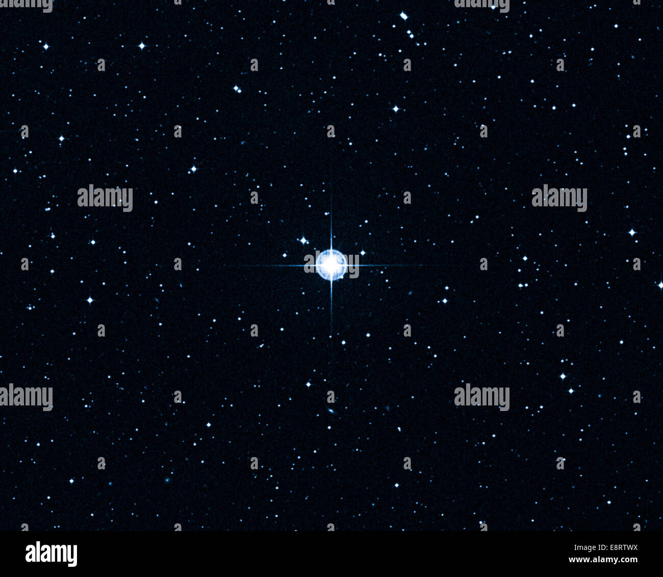 MARCH 7, 2013: You can't be older than your parents. But there is a nearby star that at first glance looks like - Stock Image