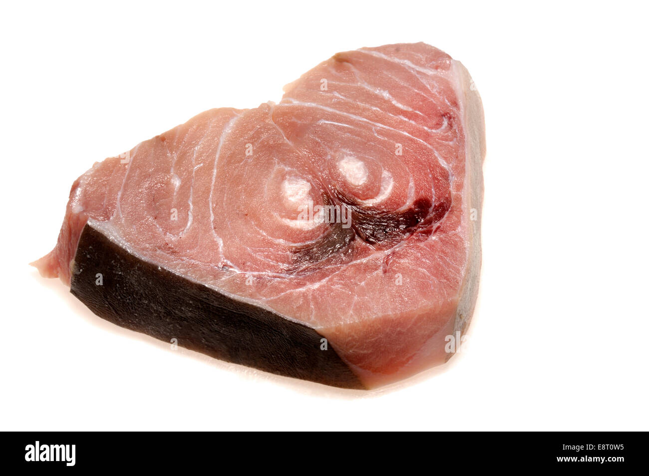 Swordfish steak - Stock Image