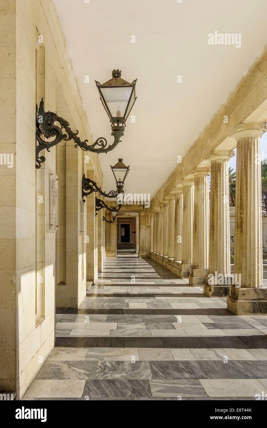 Museum of Asian Art Corfu Greece - Stock Image