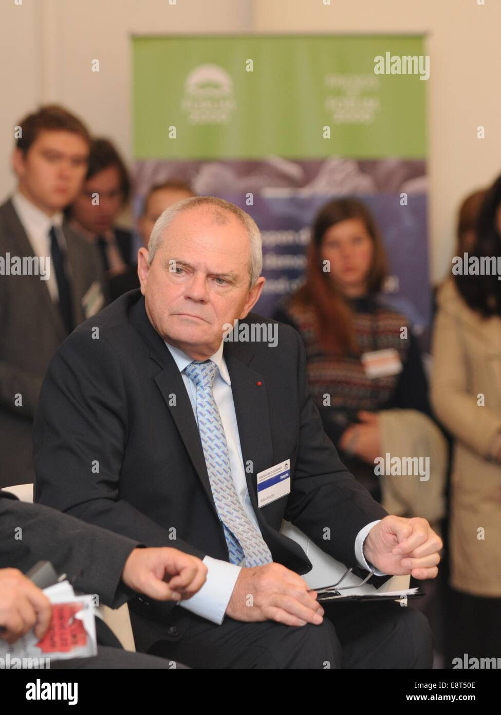 Slovakian actor and politician, former Minister of Foreign Affairs (1990-1993), former Deputy Prime Minister (1992 - Stock Image