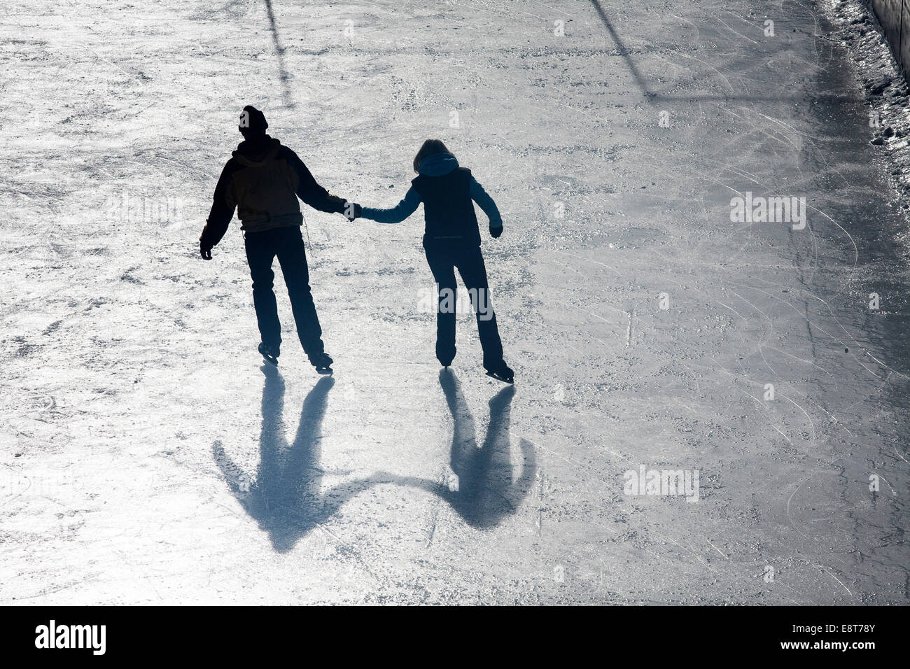 Shadows Two Lovers Holding Hands Stock Photos   Shadows Two Lovers ... b14ea5bc87