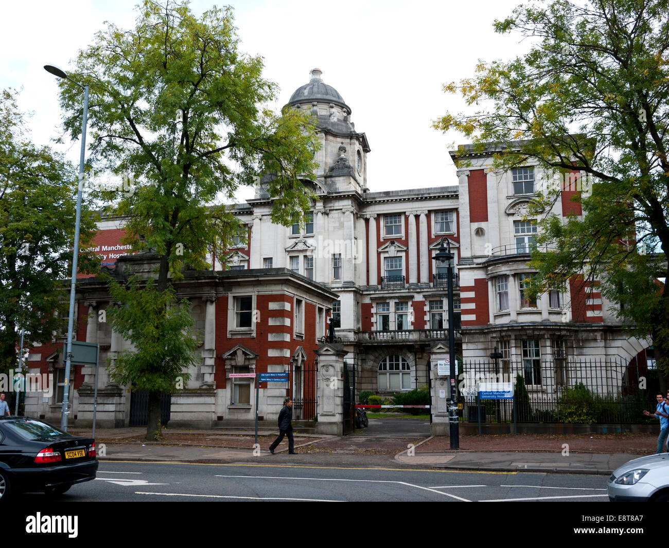 Central Manchester University Hospitals, Oxford rd, Manchester, UK. - Stock Image