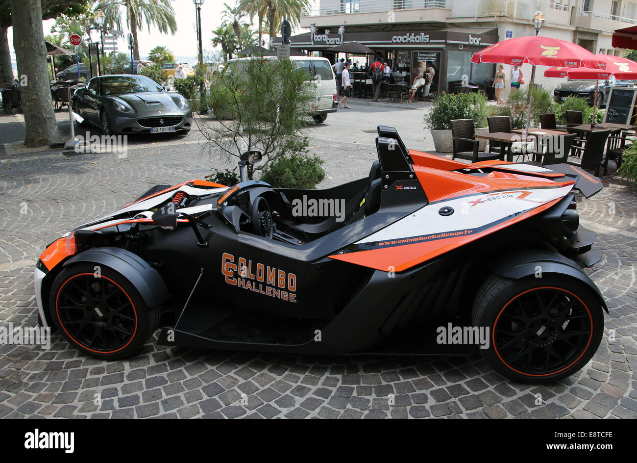 Sports car.KTM X-Bow R - Stock Image