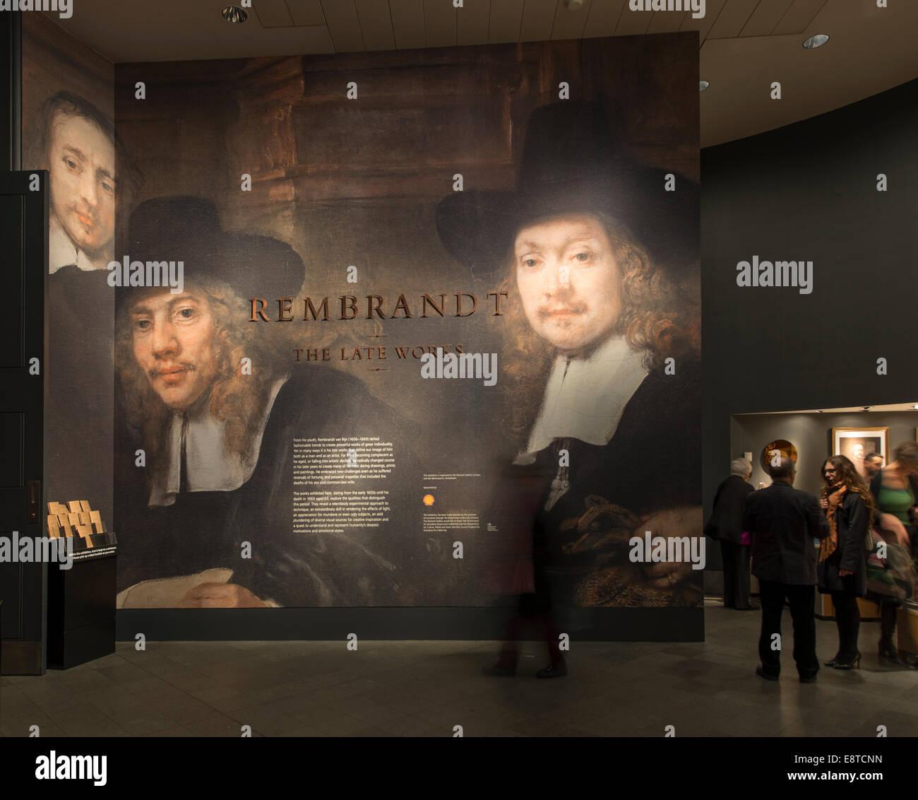 Rembrandt Exhibition Shell : Announcement for joseph goldyne exhibition diatrope books
